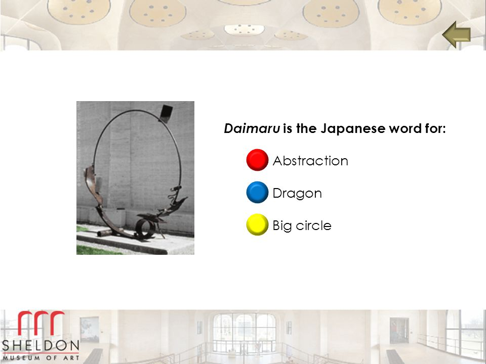 Daimaru is the Japanese word for: