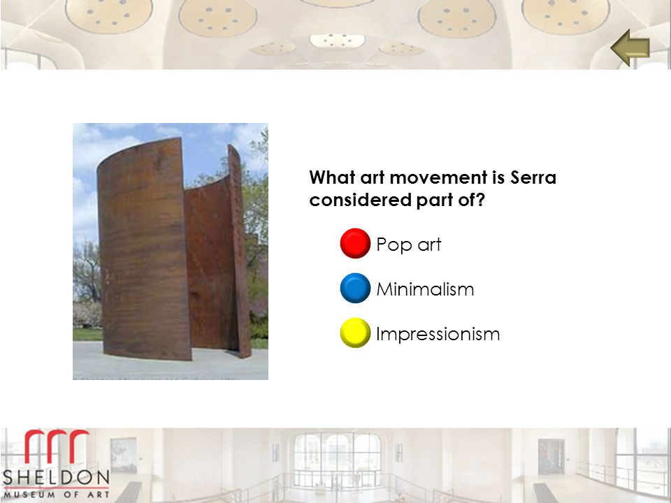What art movement is Serra considered part of