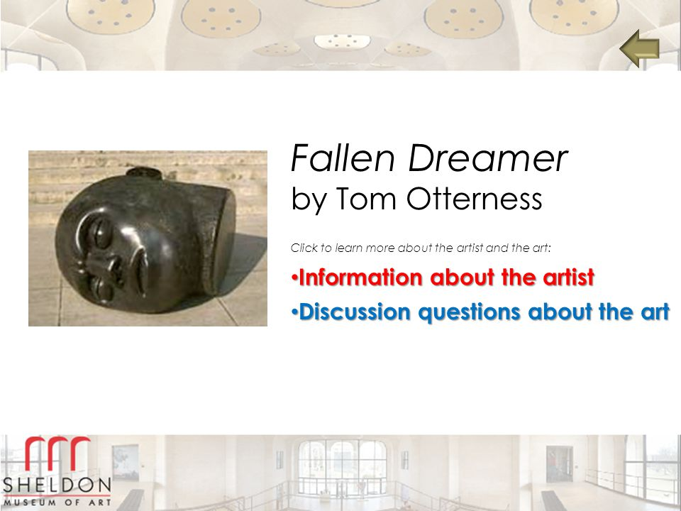 Fallen Dreamer by Tom Otterness Information about the artist