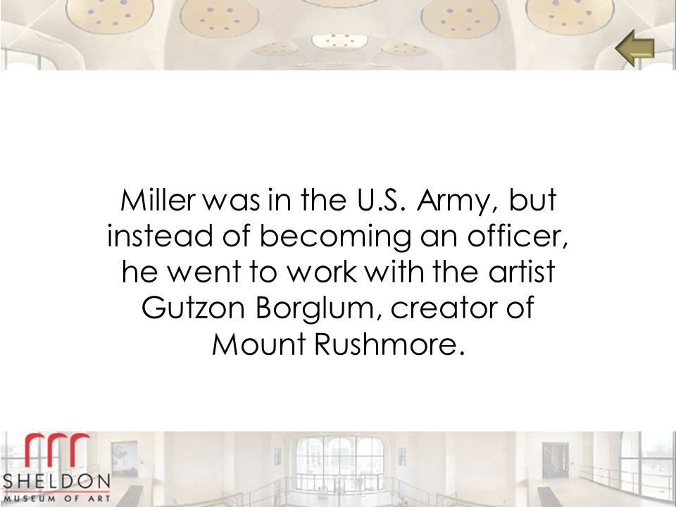 Miller was in the U.S.
