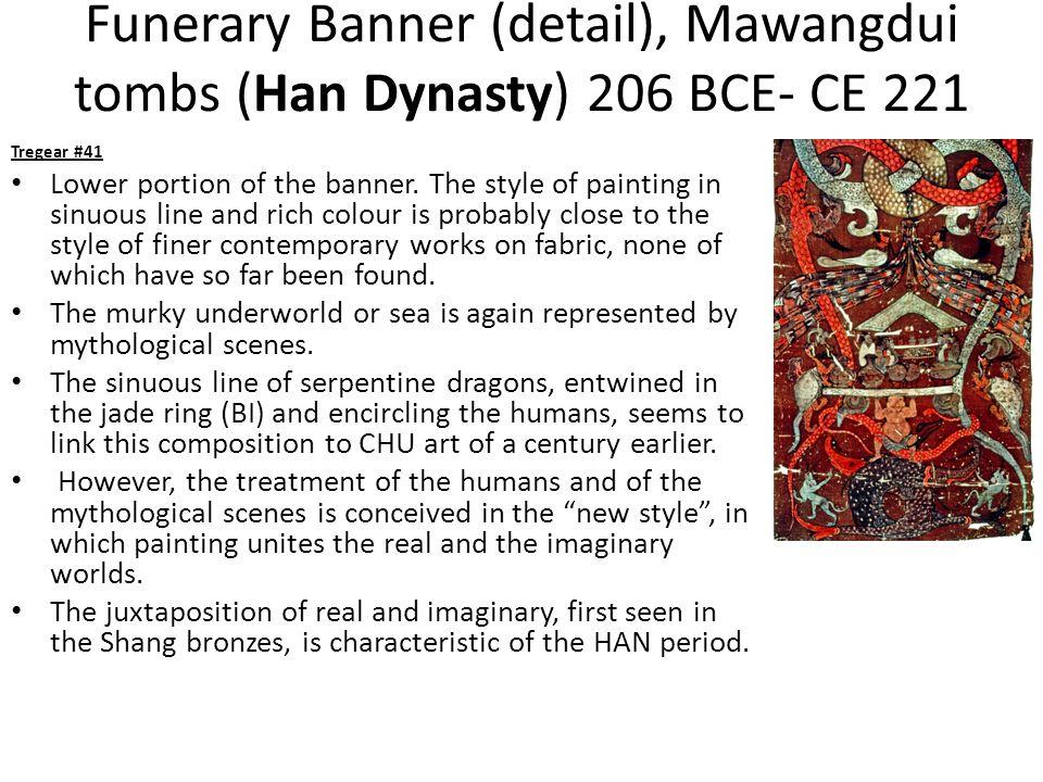 Funerary Banner (detail), Mawangdui tombs (Han Dynasty) 206 BCE- CE 221