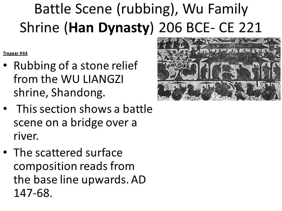 Battle Scene (rubbing), Wu Family Shrine (Han Dynasty) 206 BCE- CE 221