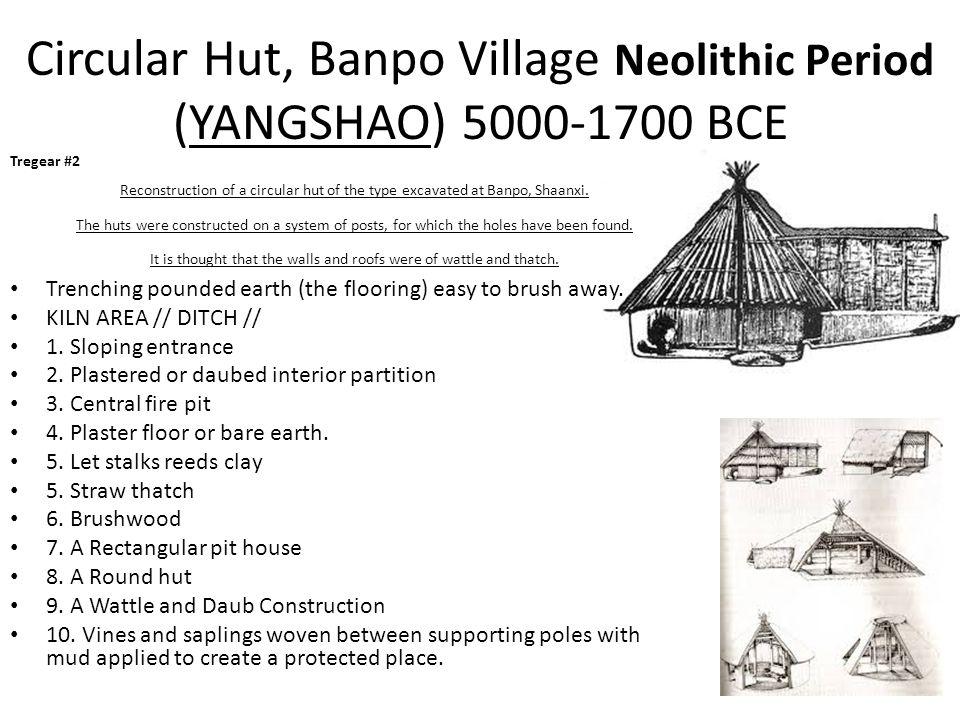 Circular Hut, Banpo Village Neolithic Period (YANGSHAO) 5000-1700 BCE