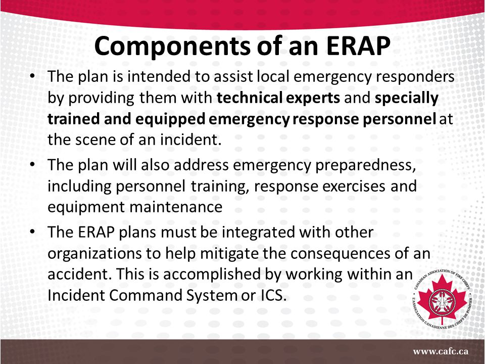 Components of an ERAP