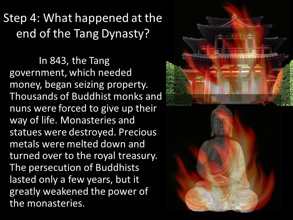 Step 4: What happened at the end of the Tang Dynasty