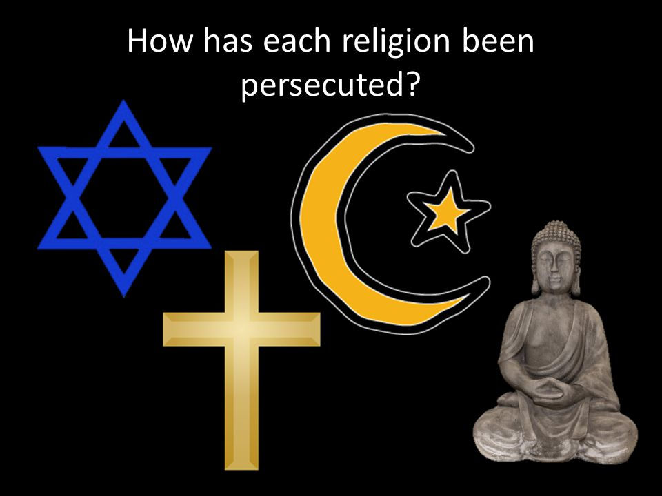 How has each religion been persecuted