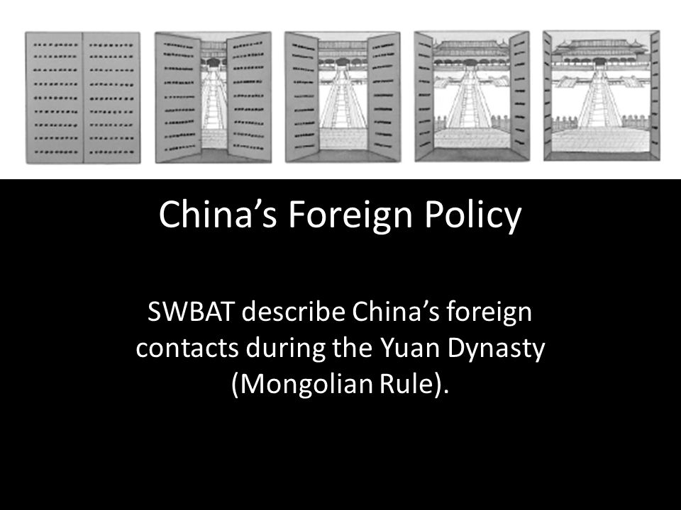 China's Foreign Policy
