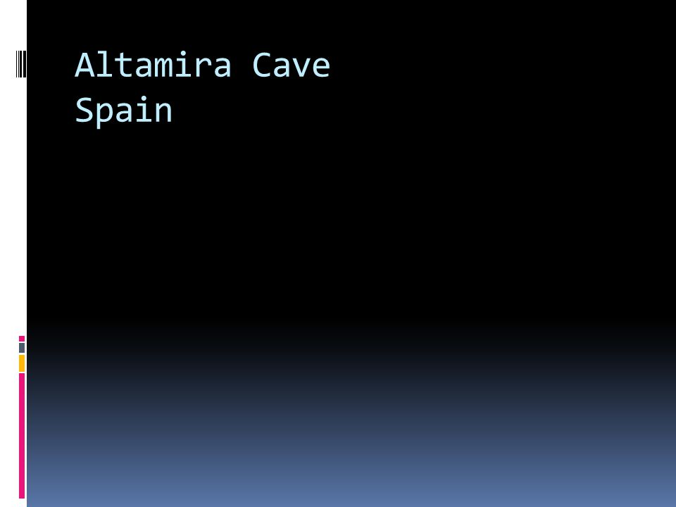 Altamira Cave Spain