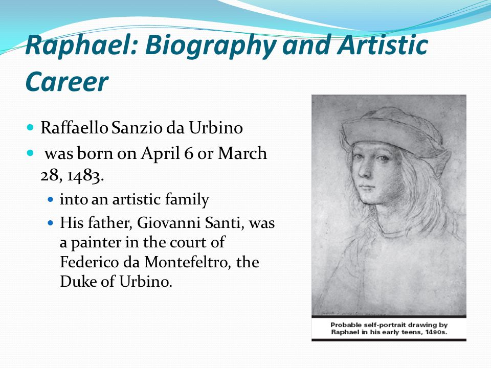 Raphael: Biography and Artistic Career