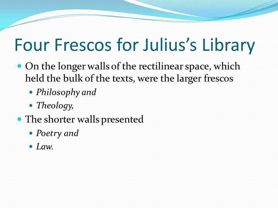 Four Frescos for Julius's Library