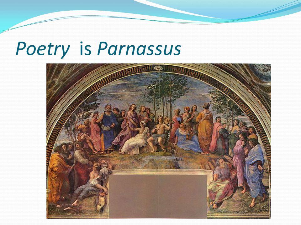 Poetry is Parnassus