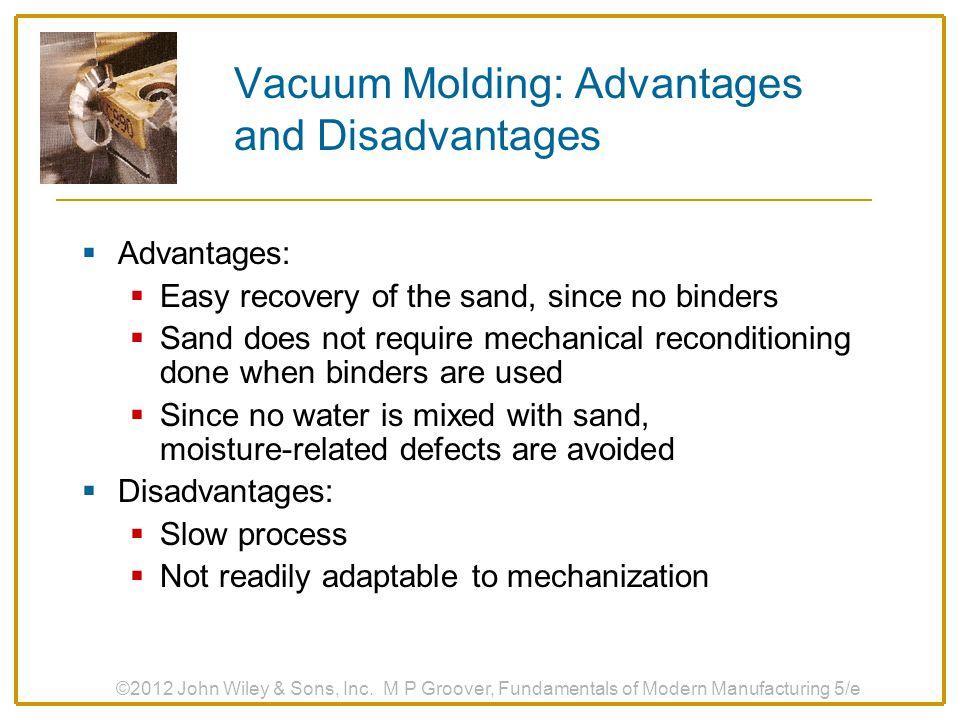 Vacuum Molding: Advantages and Disadvantages