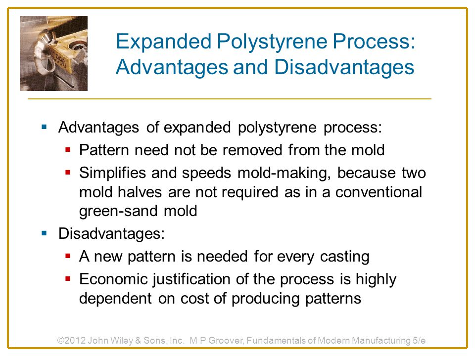 Expanded Polystyrene Process: Advantages and Disadvantages