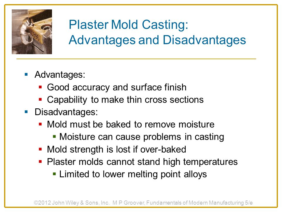 Plaster Mold Casting: Advantages and Disadvantages