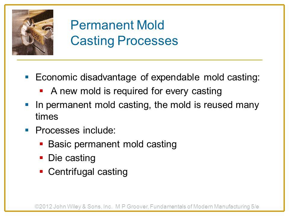 Permanent Mold Casting Processes