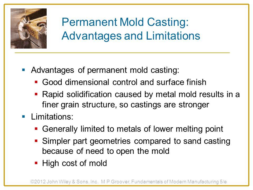 Permanent Mold Casting: Advantages and Limitations