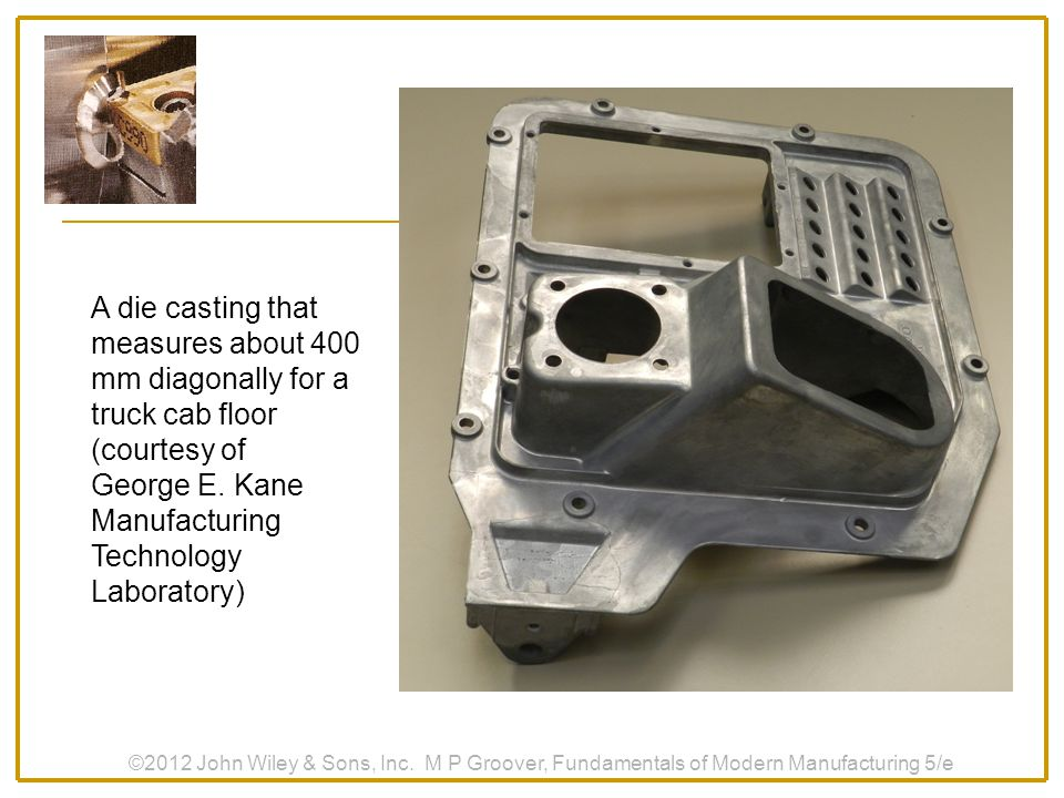 George E. Kane Manufacturing Technology Laboratory)