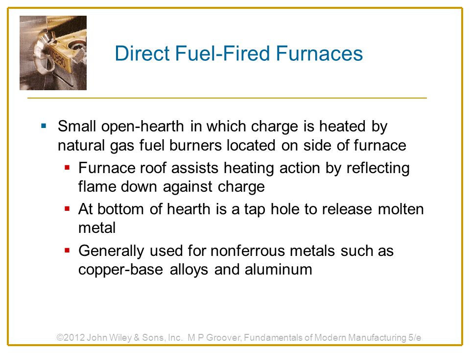 Direct Fuel‑Fired Furnaces
