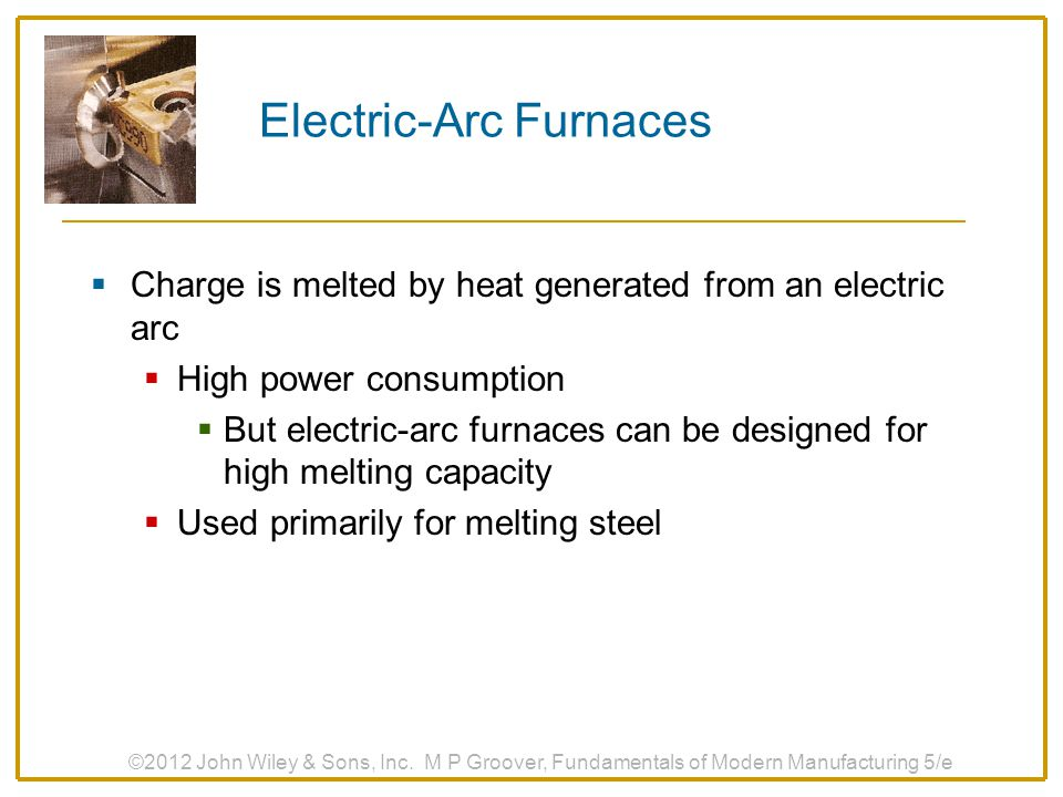 Electric‑Arc Furnaces