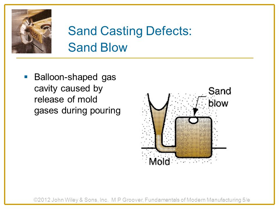 Sand Casting Defects: Sand Blow
