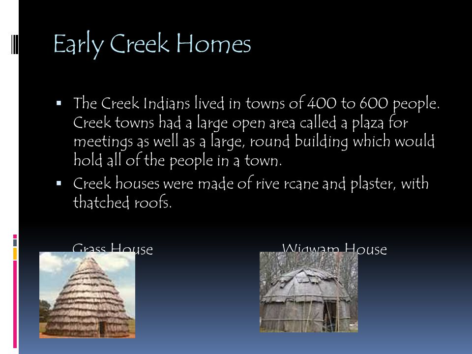 Early Creek Homes