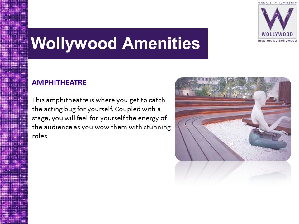 Wollywood Amenities AMPHITHEATRE