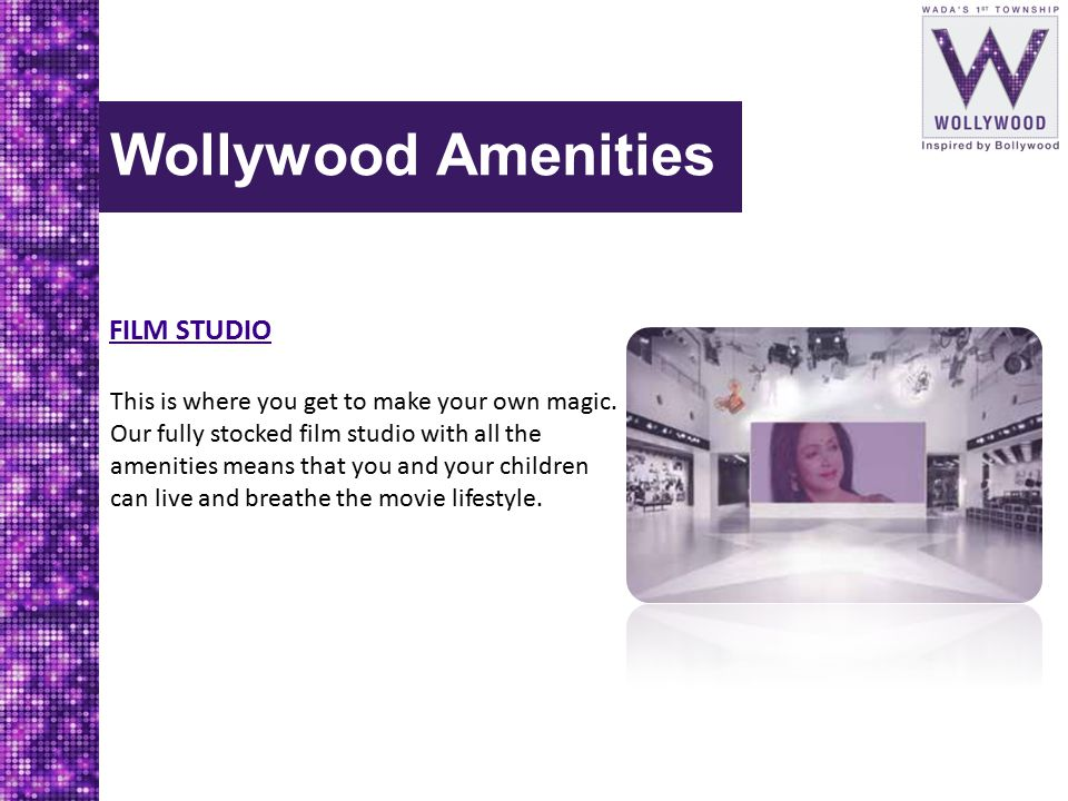 Wollywood Amenities FILM STUDIO