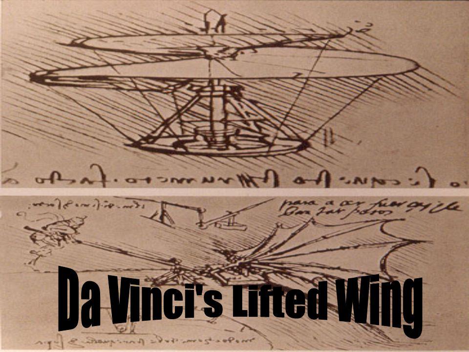 Da Vinci s Lifted Wing