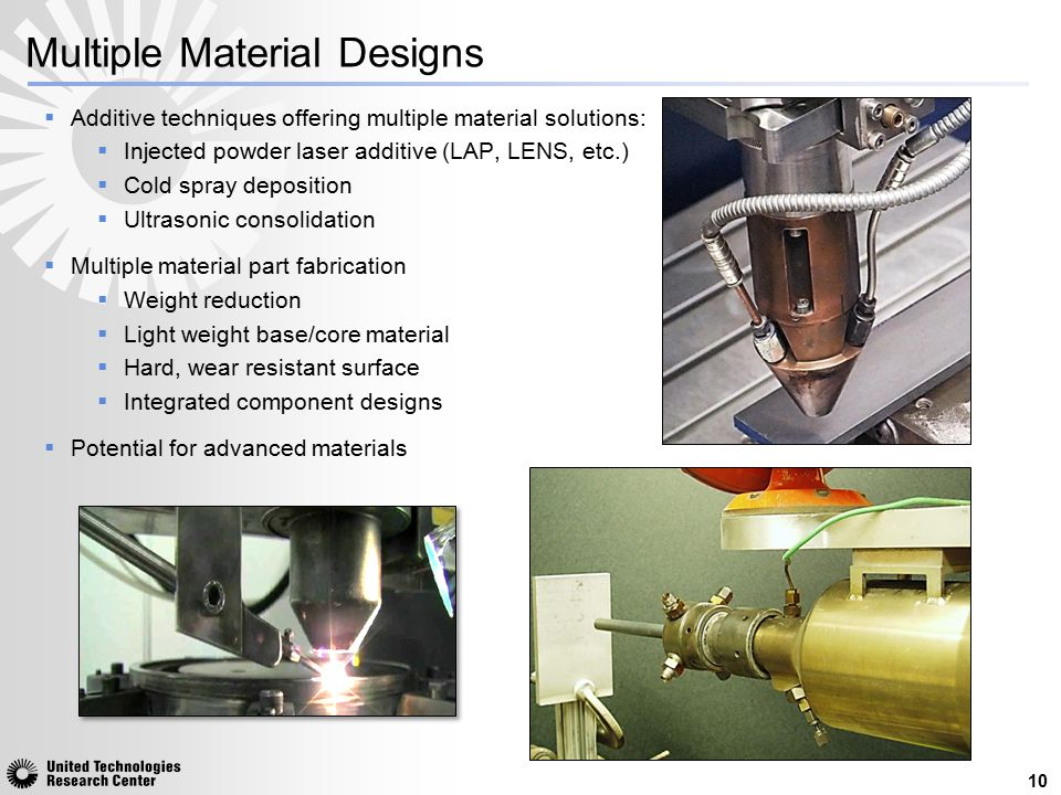Multiple Material Designs