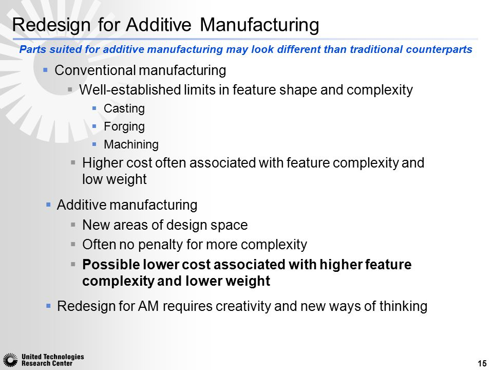Redesign for Additive Manufacturing