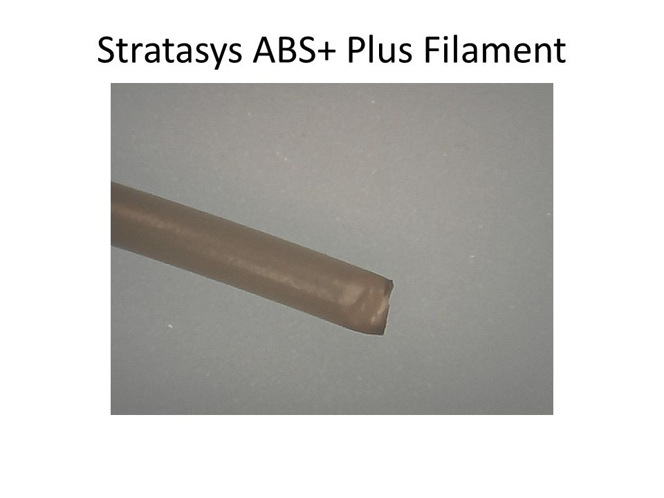 Stratasys ABS+ Plus Filament