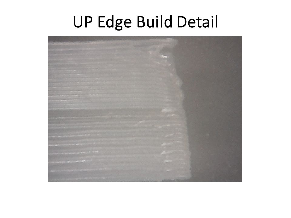 UP Edge Build Detail