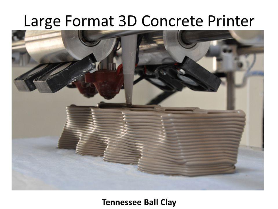 Large Format 3D Concrete Printer