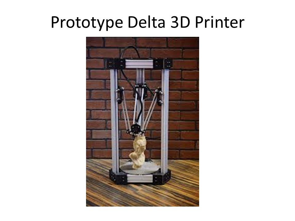 Prototype Delta 3D Printer