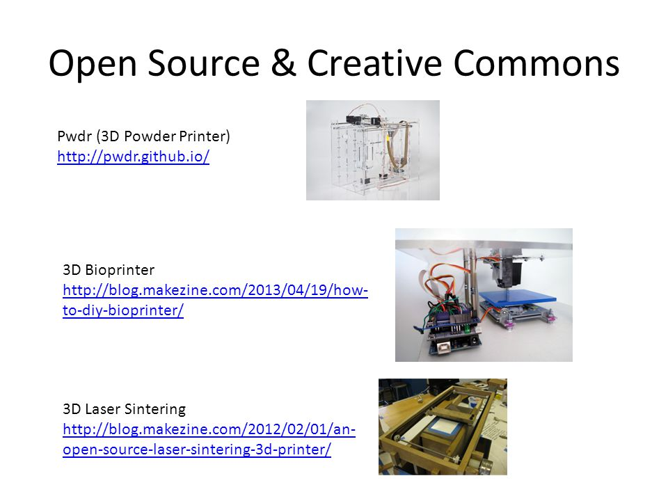 Open Source & Creative Commons