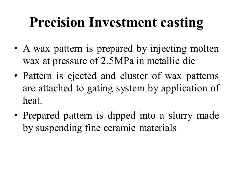 Precision Investment casting