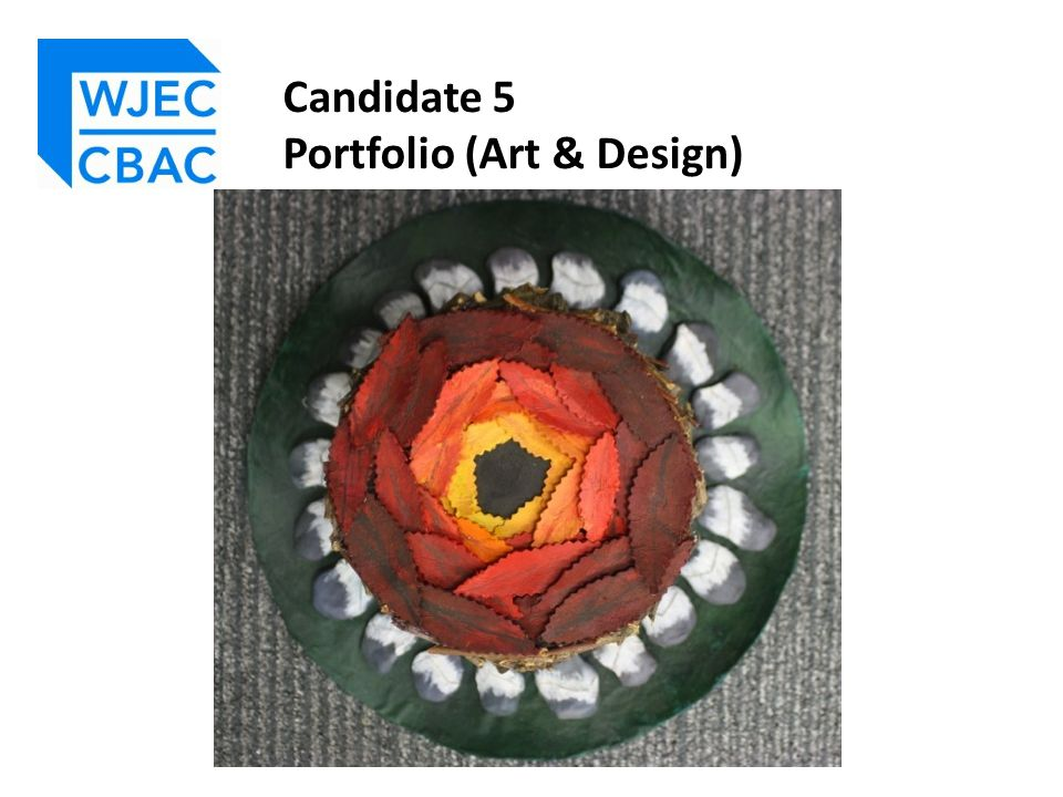 Candidate 5 Portfolio (Art & Design)