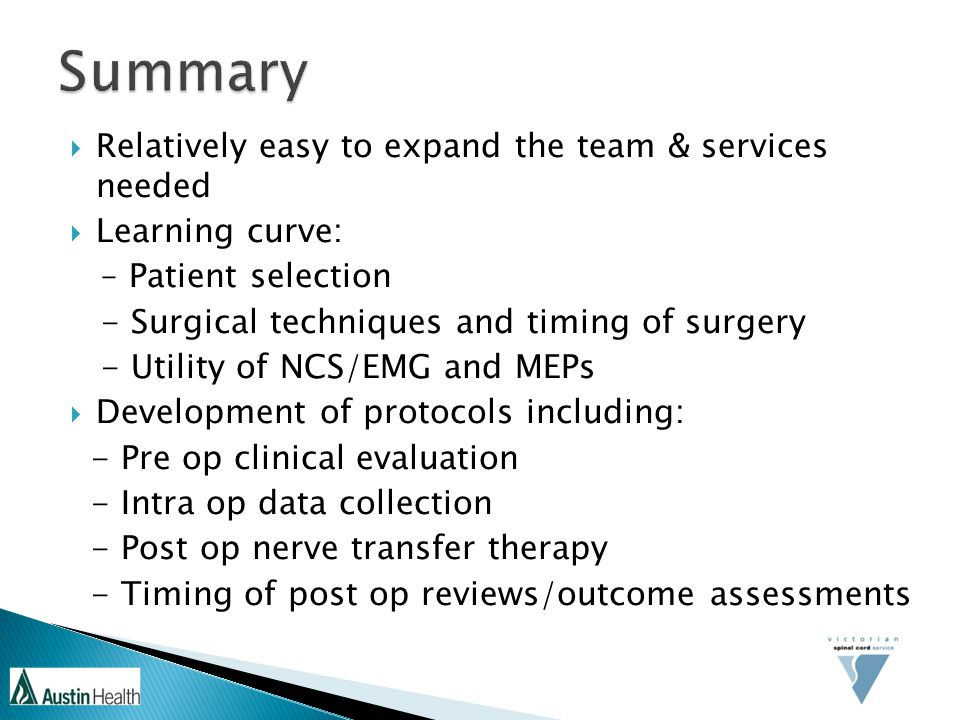 Summary Relatively easy to expand the team & services needed