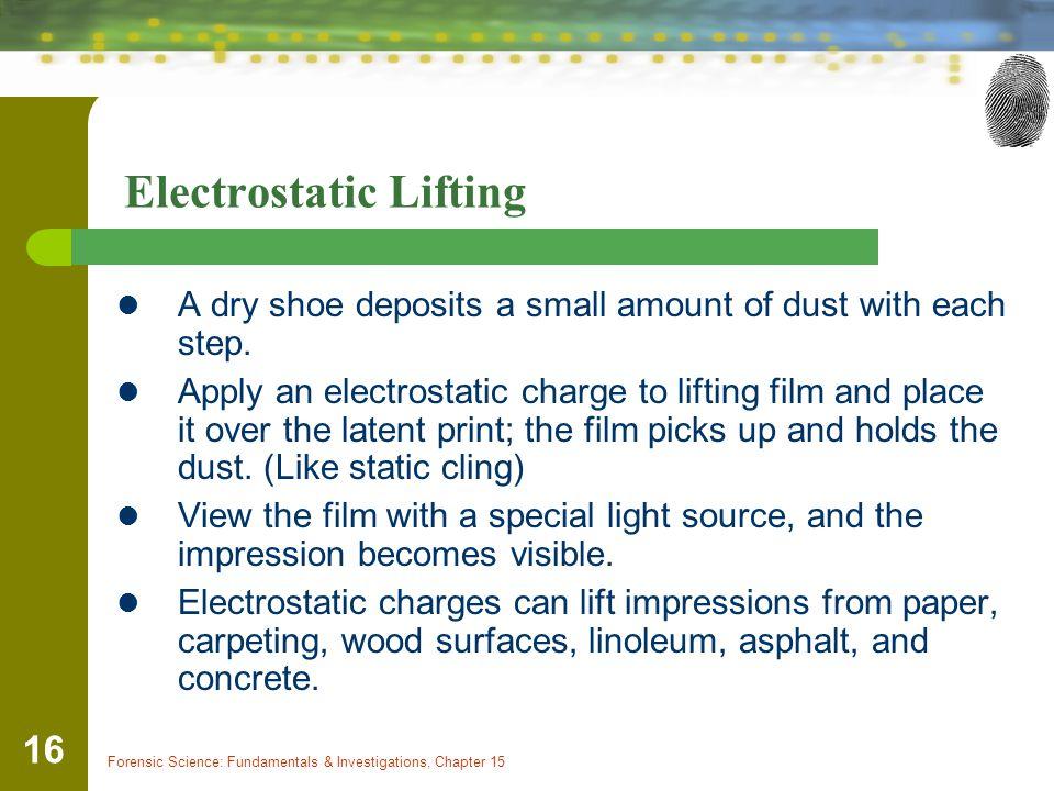 Electrostatic Lifting