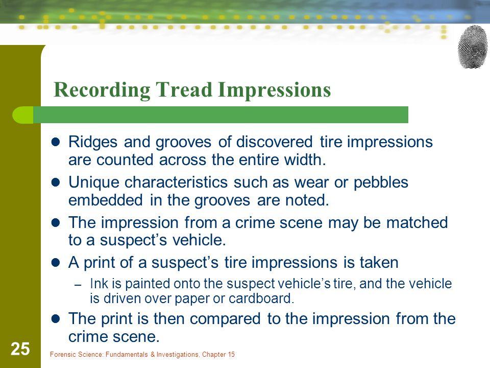 Recording Tread Impressions