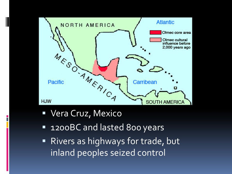 Vera Cruz, Mexico 1200BC and lasted 800 years.