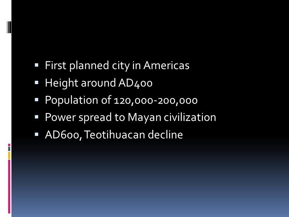 First planned city in Americas