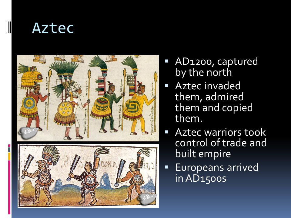 Aztec AD1200, captured by the north