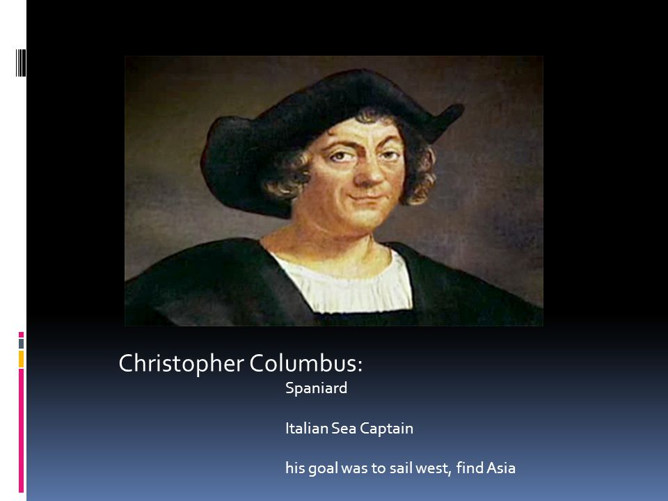 Christopher Columbus: