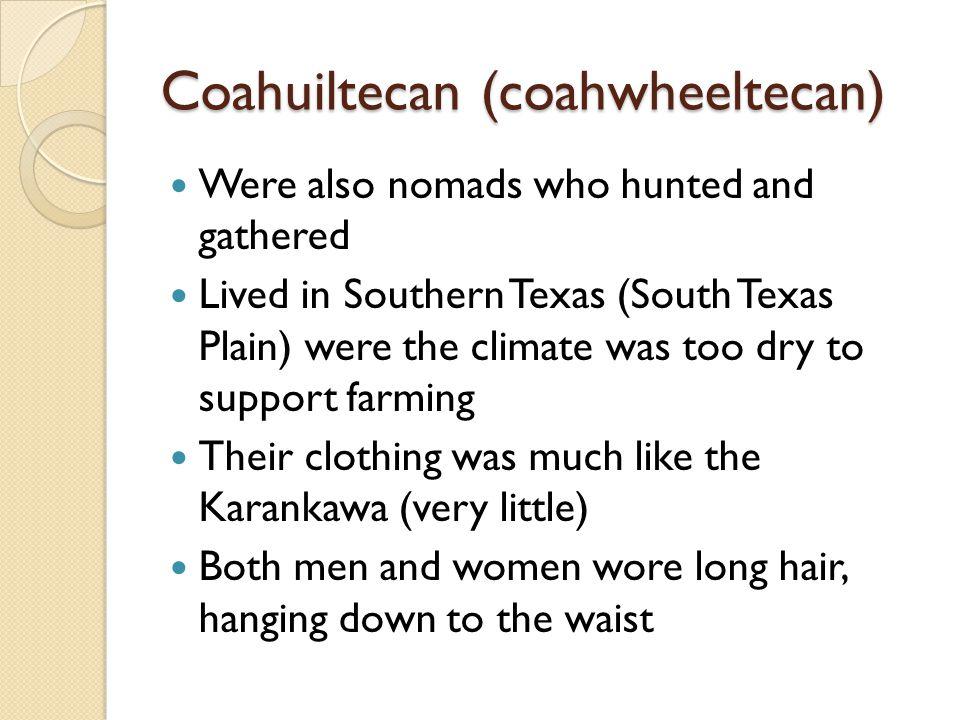 Coahuiltecan (coahwheeltecan)