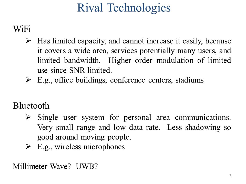 Rival Technologies WiFi Bluetooth