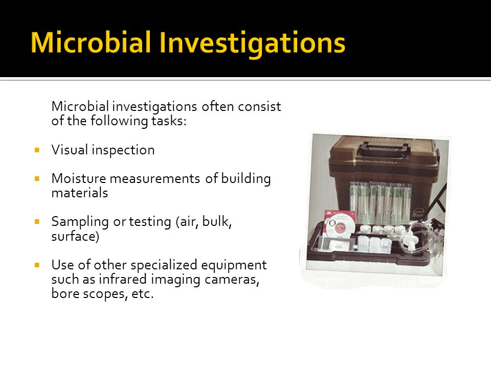 Microbial Investigations