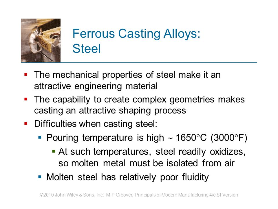 Ferrous Casting Alloys: Steel