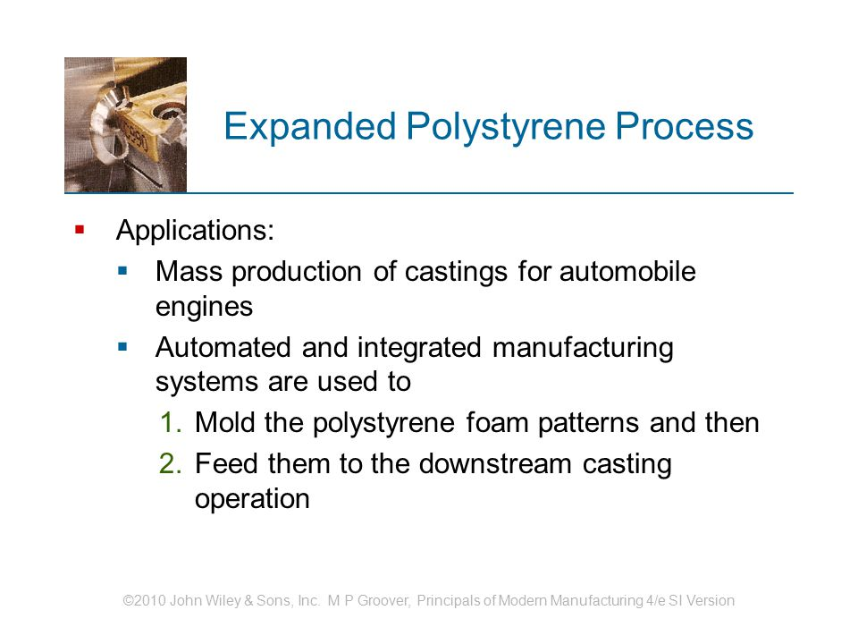 Expanded Polystyrene Process