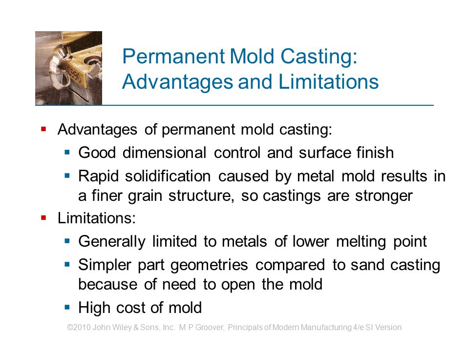Permanent Mold Casting: Advantages and Limitations